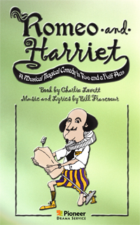 Cover for Romeo and Harriet