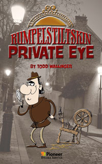 Cover for Rumpelstiltskin, Private Eye