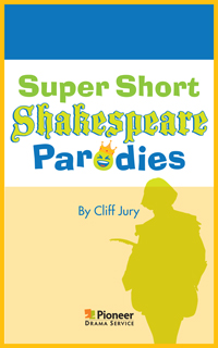 Cover for Super Short Shakespeare Parodies