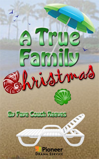 Cover for A True Family Christmas