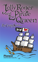 Cover for Jolly Roger and the Pirate Queen