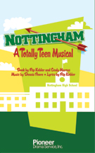 Cover for Nottingham:  A Totally Teen Musical