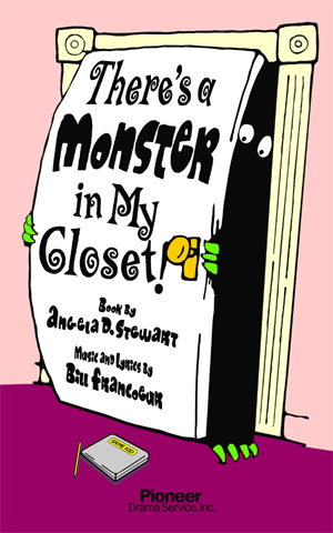 Cover for There's a Monster in My Closet!